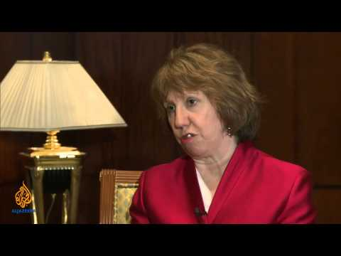 Talk to Al Jazeera - Catherine Ashton: 'We've made significant progress'