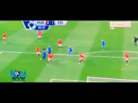 Manchester United Vs Everton 0 1 All Goals & Highlights 4122013  Oviedo Goal