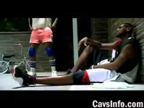 NBA Nike Commercial LeBron James vs Legends in a Dunk Contest