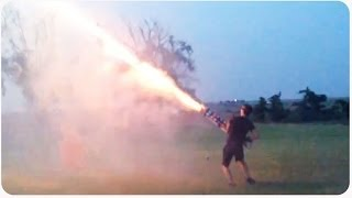 NEW Real Life GTA 5 Fireworks Hack