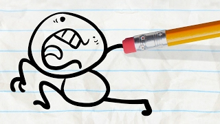 """Hand Off"" | Pencilmation Cartoons"