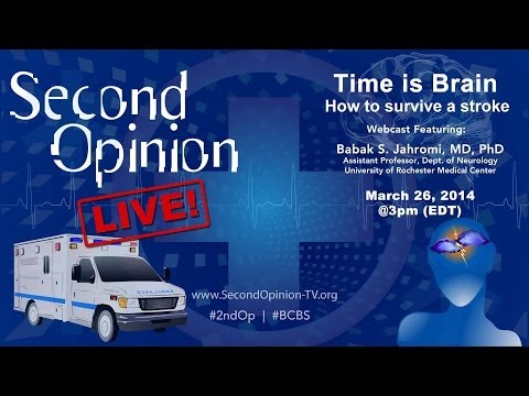 SECOND OPINION LIVE! | Stroke: Time is Brain | BCBS