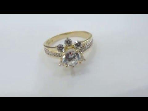 Các mẫu kiểu nhẫn đính hôn cho nữ đẹp vàng 18k giá rẻ