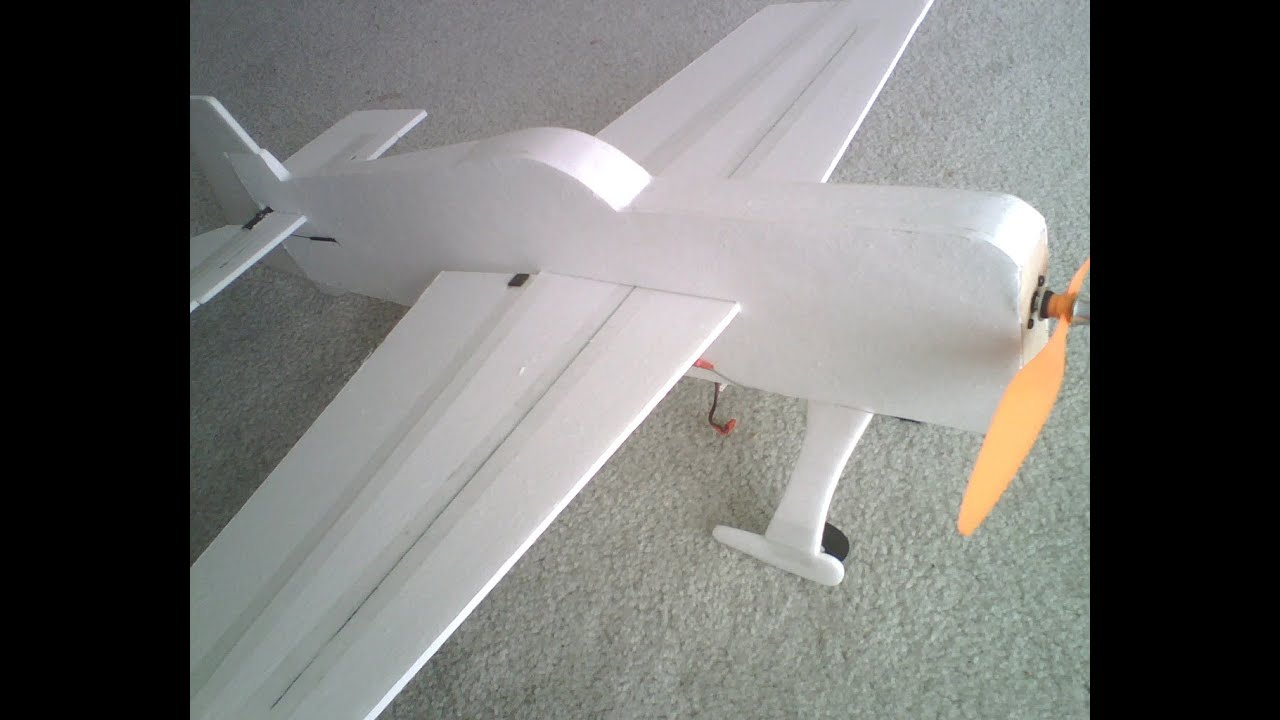 Making A 3d Foamy Rc Airplane For Cheap  Plans To Maiden