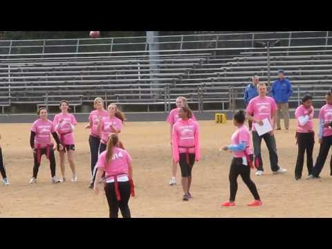 SHS Powder Puff Football game 2013