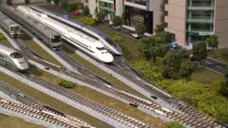 Kato City Layout Japanese Model Train (N Scale)