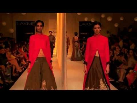 Manish Malhotra Opening Show  at LFW WF 2013