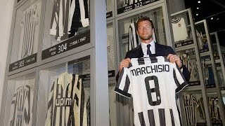 Claudio Marchisio nella storia della Juventus - Claudio Marchisio enters Juventus history