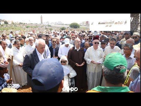 جنازة الراحل عبد الكريم غلاب