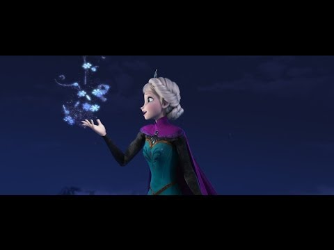 "Disney's Frozen ""Let It Go"" Sequence Performed by Idina Menzel,"