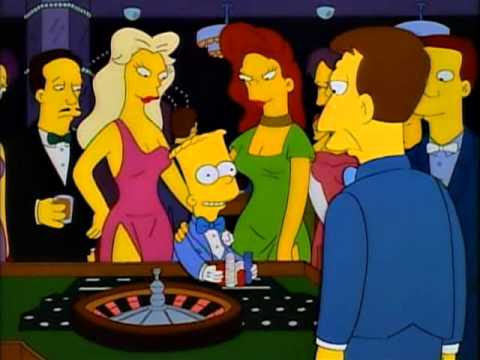 simpsons burns casino