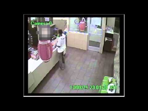 Raw: Robber's Gun Jams in Fort Worth McDonald's