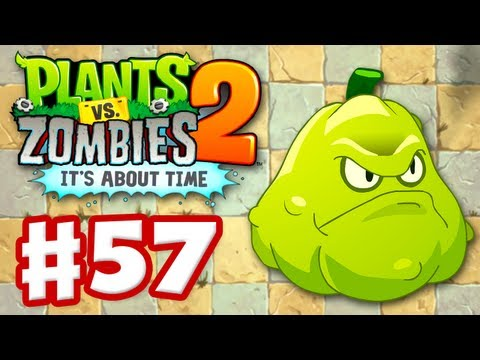 Plants vs. Zombies 2: It's About Time - Gameplay Walkthrough Part 57 - Squash (iOS)