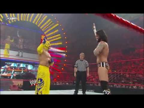 WWE Over The Limit 2010 CM Punk Vs.  Rey Mysterio Highlights (HD)