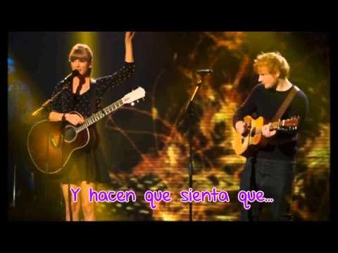 Taylor Swift Ft Ed Sheeran | Everything Has Changed | Traducida Al Español