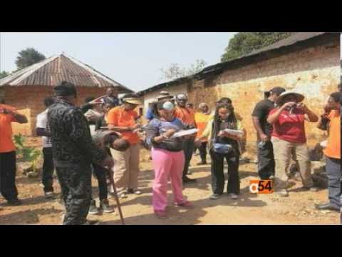 African-American Students Visit Africa