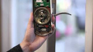 How to Install Schlage Keyed Entry with Built-In Alarm