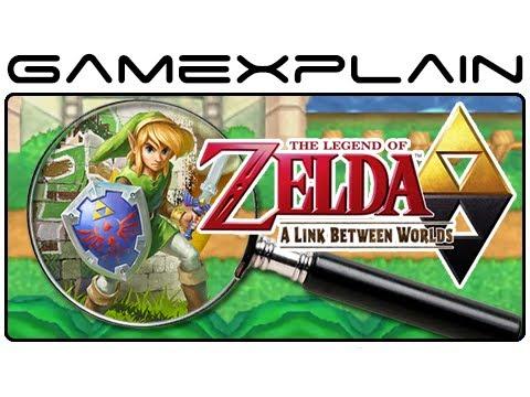 Zelda: A Link Between Worlds - Gameplay Analysis (Secrets & Hidden