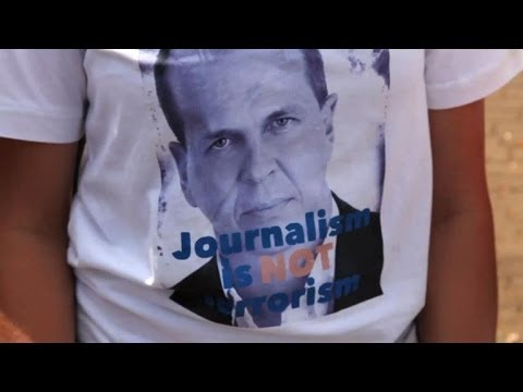 Journalists in Kenya protest jailing of colleague in Egypt