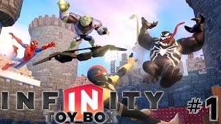 Disney Infinty 2.0 Toy Box: Part 1 Expanding The Wii U