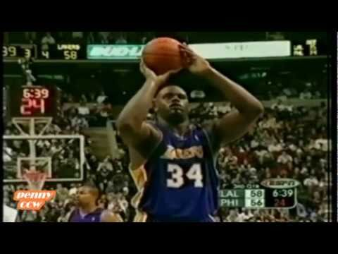 Shaq announces his retirement after 19 seasons *AIlen Iverson fouls on Shaq