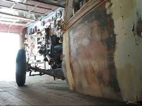 Cheap home made rat rod baffles