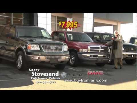LARRY STOVESAND BUICK GMC- Paducah Kentucky- preowned used car truck