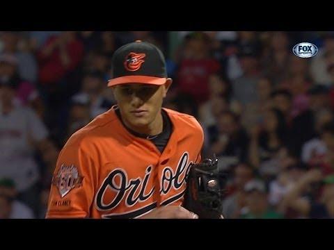 BAL@BOS: Machado's defense shines vs. Red Sox