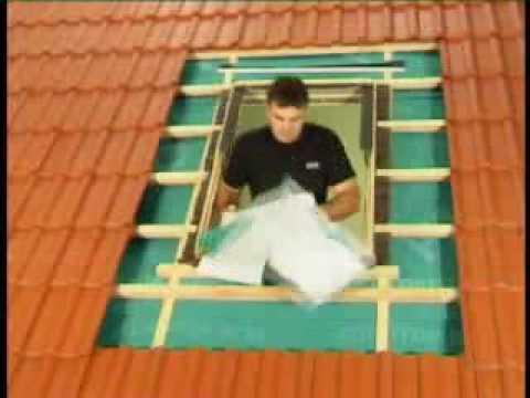 Montaż okien w połaci dachowej