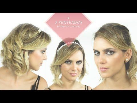 Penteados para cabelos curtos | Débora Nogueira