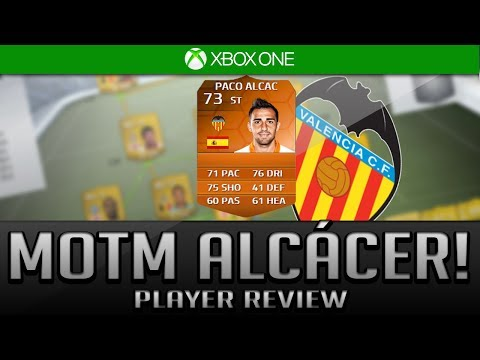 MAN OF THE MATCH (MOTM 73) Paco Alcácer PLAYER REVIEW Silver!+ In Game stats  Fifa 14 Ultimate Team