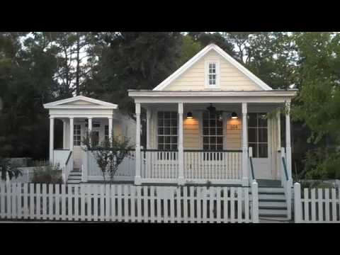 Steve mouzon cottages cottage square ms youtube for Where can i buy a katrina cottage