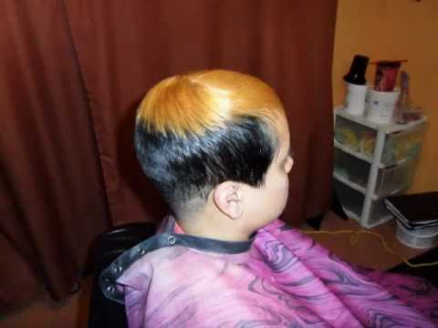 black hair salon houston l 20 years experience short