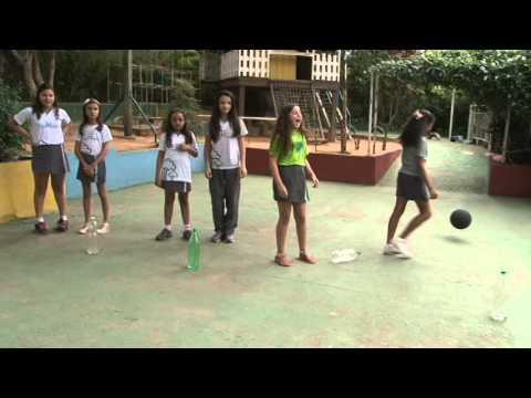 Formatura Infantil - Clipe Canto verde 2013