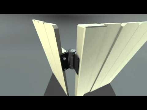 TruClose Gate Hinge - TCHD2 with 2 Legs