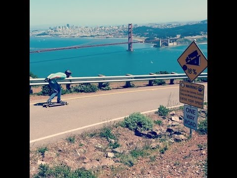 Longboarding Marin Headlands (San Francisco, CA)