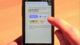 WhatsApp Ohne Kreditkarte Verlängern Android
