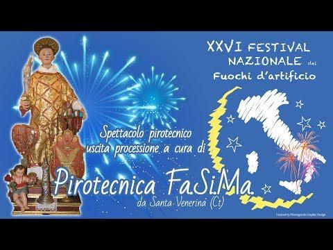 ACIBONACCORSI (Ct) - Santo Stefano 2018 - Fa.Si.Ma. (Uscita Processione)