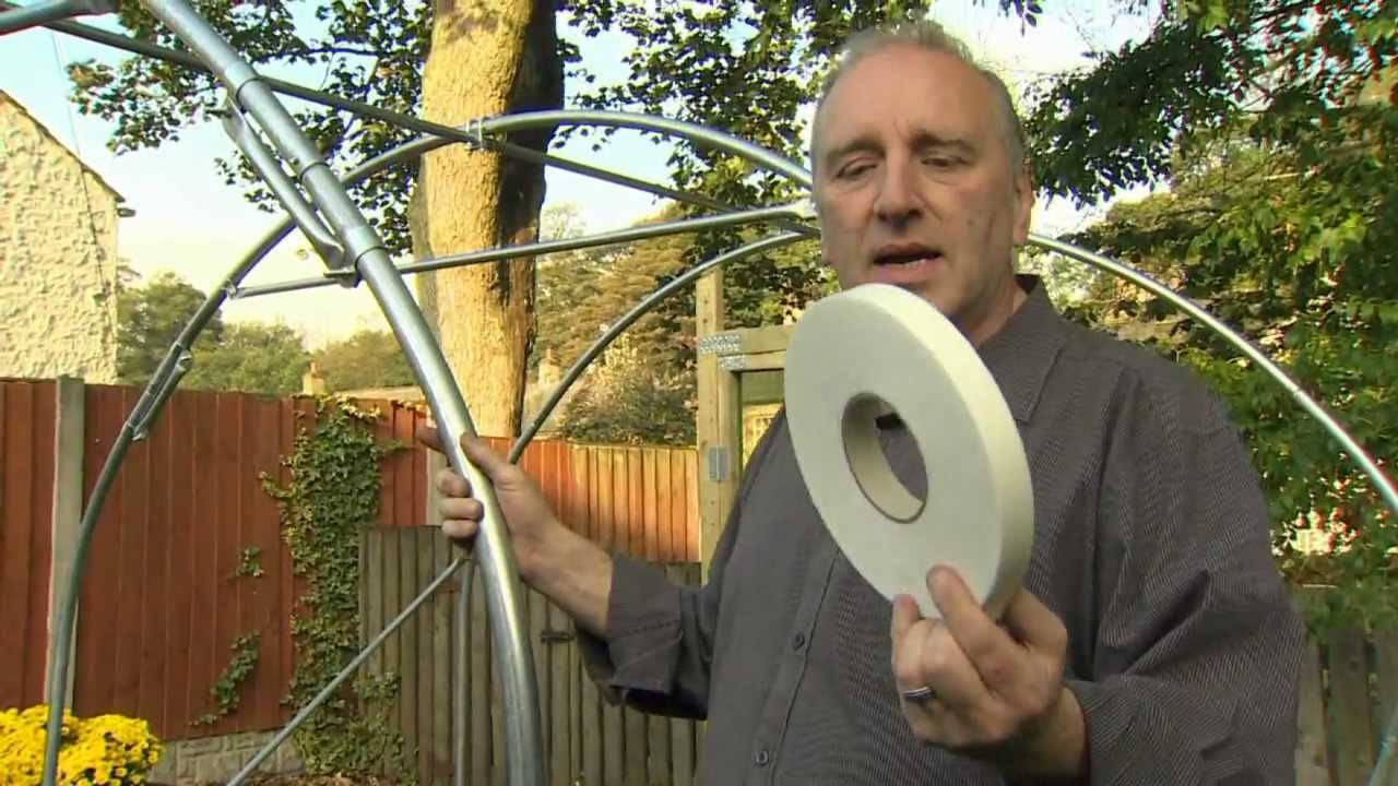 how to build a polytunnel youtube