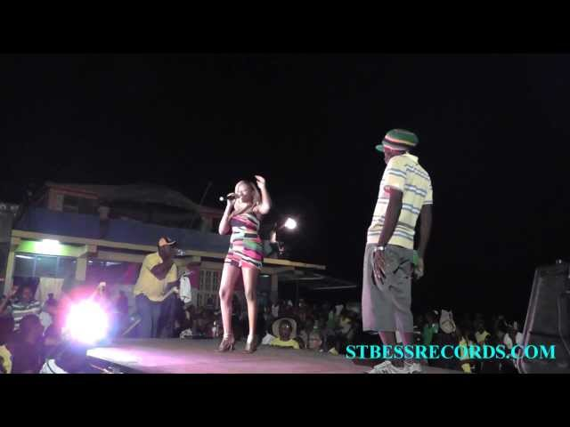 SumeRR performing in Black River, St. Elizabeth (8 Aug 2012)