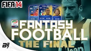FANTASY FOOTBALL TOTS SERIE A FINAL VS MRFIFASA FIFA 14