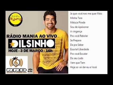 Dilsinho Cd Completo Radio Mania 2015 - Gustavo Belo