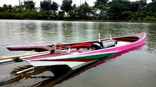 Cách làm tàu đua kiểu Thailand, แข่งเรือ