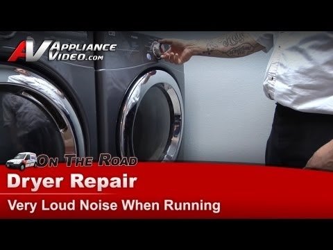 my washing machine makes a loud noise when spinning