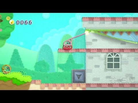 Kirby's Epic Yarn Wii - E3 2010: Trailer