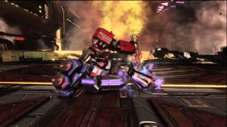 Transformers Fall Of Cybertron Ending Optimus Prime Vs