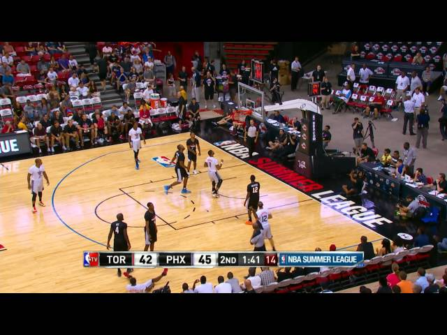 Toronto Raptors vs Phoenix Suns Summer League Recap