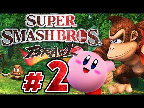 SUPER SMASH BROS. BRAWL # 02 ★ Action im Kong-Dschungel! [HD]