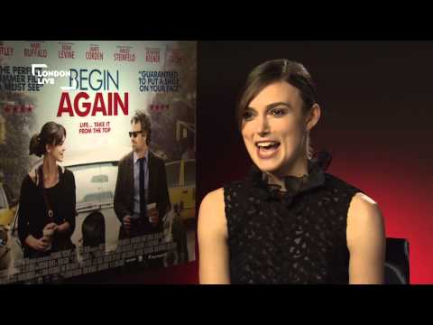 Keira Knightley tells London Go all about her new film, Begin Again