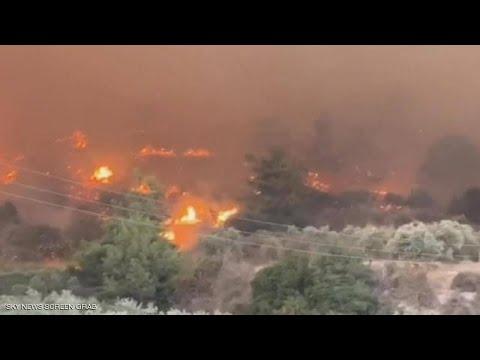 سابقة..عامل اقليم بركان ينتقل الى غابة سيدي رمضان لاخماد الحريق